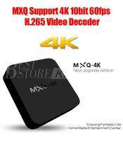 Wholesale MXQ K RK3229 Wifi TV Box GB GB Quad Core IPTV Kodi Kitkat WIFI Airplay Miracast TV Box