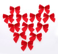 Wholesale Christmas decorations Christmas tree bow pendant Christmas red bow