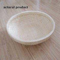 woven basket - Baby Baskets Hand Woven Round New Basket Photography Studio Props European and America style New Baby Gift Baskets Hot Sale D49