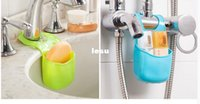 Wholesale New Arrive Sponge storage rack basket wash cloth Toilet soap shelf Organizer kitchen gadgets Accessories Supplies Products