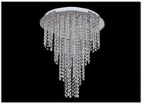 Wholesale New Arrival Modern Crystal Chandelier Light Contemporary Crystal Ceiling Light Lamps Light G4 Bulb Included Living Room Lighting V V