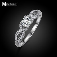 Wholesale 925 sterling silver ring new arrival jewelry CZ diamond fashion bijoux vintage bague engagement wedding femininen gift for woman MSR012