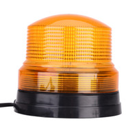 beacon power - TIROL High Power DC V LED Car Vehicle Emergency Light Amber Single Flash Light Magnetic Mount Beacon Strobe Warning Alarm Lamp K1894