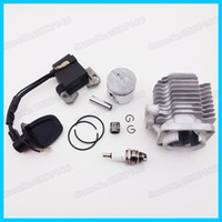 Wholesale 3 Electrode L7T Spark Plug Ignition Coil mm Cylinder Piston Kit For Stroke cc cc Mini Pocket Dirt Bike Quad ATV Moto order lt no