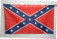 printing - DHL Free Two Sides Printed Flag Confederate Rebel Civil War Flag National Polyester Flag ft