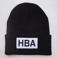 Wholesale HBA Beanie Hat Hood By Air Beanies Hats Popular Warm Winter Knit Cap Men Women Skull Caps