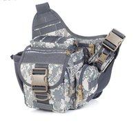 Wholesale Sports waterproof Fishing Tackle Bag Messenger Sling Bags waist bag Multi functional Nylon Single Shoulder Crossbody Bag