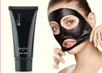 Face acne piece - New PILATEN Face Mask Tearing Style Deep Cleansing Black Moor Masks Oil Skin Acne Remover Strawberry Nose Black Mud Masks g piece