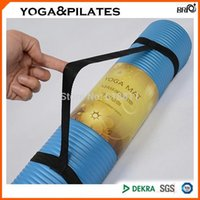 Wholesale Portable elastic strap Yoga belt for mm mm yoga fitness mat convinient straps for cushion blanket
