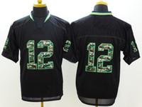 camo football jerseys - Mens Camo Fashion Jersyes Football Jerseys New Season Athletic Apparel Brand Mens Sports Shirts Top Sale Football Wears Mix Order