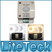 Wholesale 120 degree Sensitive Human Induction PIR Switch DC12V V Sensitive Distance Meters ON OFF Control