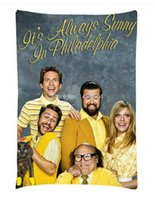 Wholesale Family friend gift It s Always Sunny in Philadelphia Fans Pillowcase Custom x30 Inch Pillow Case two sides printed