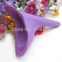 Wholesale 1000pcs Silicone Female Stand up Urinal Camping Travel Women Urination Device Without Retail Boxccc1