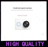 action camera - Original xiaomi xiaoyi sport camera hd action CMOS MP FHD P WIFI Bluetooth Xiaomi Yi Action Camera