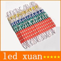 Wholesale 2015 Brand New LEDs Led Modules Lights With Cover Lens Waterproof Injection ABS Led Lights Modules V Best For Billboard Backlight