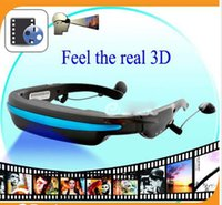 Wholesale 2015 NEW GB quot Virtual Screen D Video Glasses Cinema Eyewear Mobile Theatre Music Player Ebook