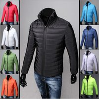 Wholesale 2016 winter wadded jacket male short down cotton padded jacket design outerwear plus size clothe Fashion Men Keep Warm Coat Parkas
