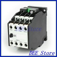 Wholesale mm DIN Rail Mounted P Poles V Coil A AC Contactor CJX1