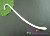 Wholesale 15PCs Silver Plated Bookmark With Loop mm Findings B01615