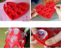 Wholesale New Arrival Cute Silicone Ice Cube Tray Ice Mould Box Best Gifts CPAM