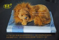 pampers - Sleeping Lion pampered petz pet mate breathing cat cute toy sleeping pet emulational mini vivid toy