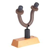 wooden hook - New Arrival Guitar Holder Guitar Wall Hanger Hooks with Rubber Arms Wooden Base Universal for Guitar Bass Ukelele I681