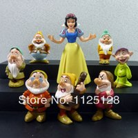 age animation - Animation around seven dwarfs and Snow White doll action figure birthday graduation gifts set