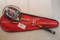 Wholesale N90 lining badminton rackets woods N90ii high end nano carbon badminton racquet free shipment A5 A5