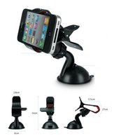 Cheap Universal Car Phone Holder For iPhone 6 6 Plus Samsung GPS 360 Degree Rotating Windshield Mount Stand Phone Holder Wholesale