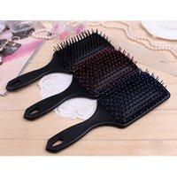 Wholesale Hot Sale New Women Hairbrush Professional Heathy Paddle Cushion Hair Brush Quality Hair Loss Massage Comb