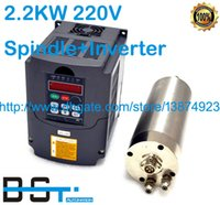 Wholesale Water Cooled kw V ER20 mm Spindle Motor with matched kw Inverter VFD for CNC Engraving Grinding Milling