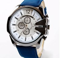 Wholesale Man Sport Watches Top Brand Luxury Style Watch For Men Leather Strap Quartz Wristwatch Clock