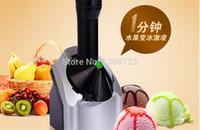 Wholesale 16pcs Portable Icecream Machine automatic Fruit Ice Cream Maker