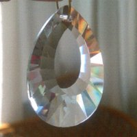 Wholesale 280pcs mm crystal shell prism pendant for chandelier crystal glass drop pendant hanging shell