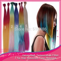 best party hair - 100pcs inch cm Long Rainbow Loop Grizzly Feather Hair Extensions I Tip Hair Extensions Decoration Best Fast For Party