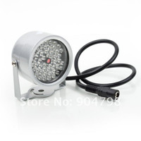 Wholesale 3pcs LED illuminator Light CCTV IR Infrared Night Vision For Surveillance Camera Worldwide FreeShipping
