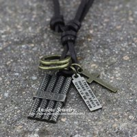 antique rope tool - LOW0052LN Best Selling Hot Sale Items Music Tool Charm Women Antique Silver Charm Pendant Necklace Wedding Gift