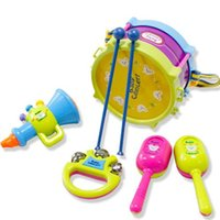 Wholesale Children Toys Baby Toy Children Toys Fashion Kids Hand Drum Baby Toy Baby Lovely and Plastic Instrument Toys