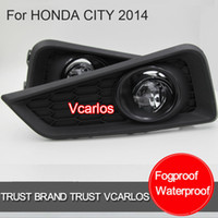 Wholesale DHL UPS FEDEX TNT Auto PARTS Fog Lights for HONDA CITY Clear lens fog light kits