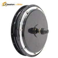 Wholesale Passion Ebike V High Speed Electric Bikes Brushless Non gear Front Hub Motors W Bicycle Hub Motor