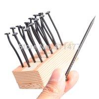 Wholesale Sets Reusable Pound Party Nail Shape Toothpick Reusable Tableware Party Pick Pieces Set