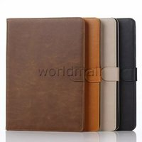 Wholesale For Samsung Galaxy Tab A T550 Tablet PC Stand Leather Wallet Case Cover Retro Crazy Horse Pattern with Card Holder