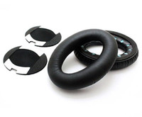 Wholesale Replacement Earpads Ear Pads Cushions For QuietComfort QC2 QC15 Headphone DHW DHL Fedex EMS
