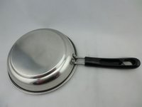 Wholesale cm a high grade stainless steel frying pan plat pan with handle great wholesaler low price