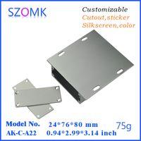 aluminum extrusion equipment - 1 wall enclosure aluminum electronics equipment box mm diy szomk new aluminum enclosure extrusion box AK C A22