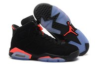 Wholesale Nike dan Black Infrared Retro Basketball Shoes Mens Women s Jordan s Sneakers