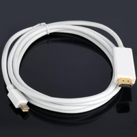 Wholesale New m Mini Display Port to Male HDMI Adapter Converter Cable for Macbook F1850 W0 SUP5