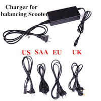 Wholesale Universal self Smart balancing Scooter Charger US SAA EU UK Standar sets DHL