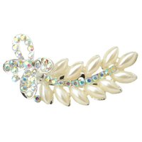Wholesale shipping free New Fashion Kinds of Styles Rhinestone y Brooch pearl Silver White