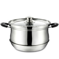 Wholesale Stainless pot cm cooking pot multifunction stock pan Heat preservation Saving pot cooking tool Q